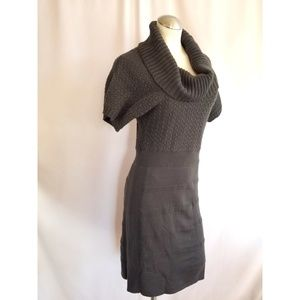 The Limited Size S Gray Knit Dress Sweaterdress